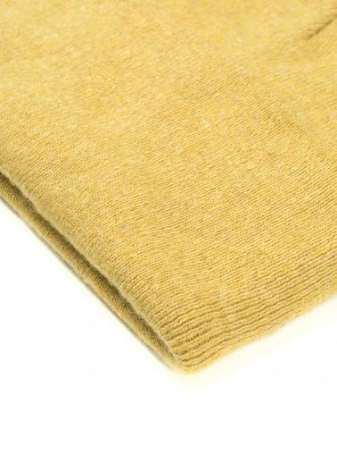 Silk and Cashmere Infinity Beanie Bere Sarı